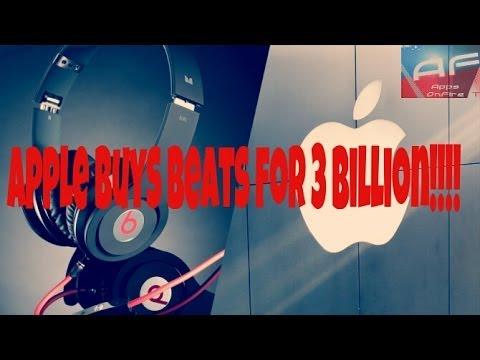 APPLE BUYS BEATS FOR $3 BILLION!!!!