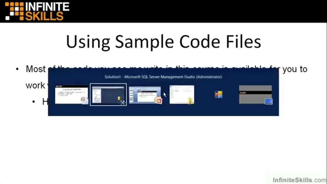 Microsoft sql server exam 70 461 tutorial using sample code microsoft sql server exam 70 461 tutorial using sample code files xflitez Gallery