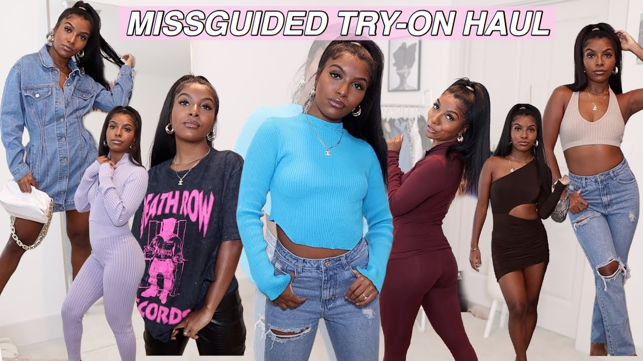 HUGE FALL MISSGUIDED TRY ON HAUL ! 30+ ITEMS