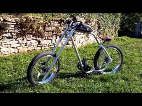 prototype du v lo chopper lectrique par hotroadbikes youtube. Black Bedroom Furniture Sets. Home Design Ideas