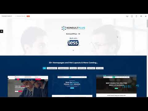 Consulting Finance Business - Consulting Plus        | Free Template