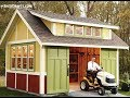 12x16 Garden Storage Shed Building Plans For Crafting DIY Gable Shed