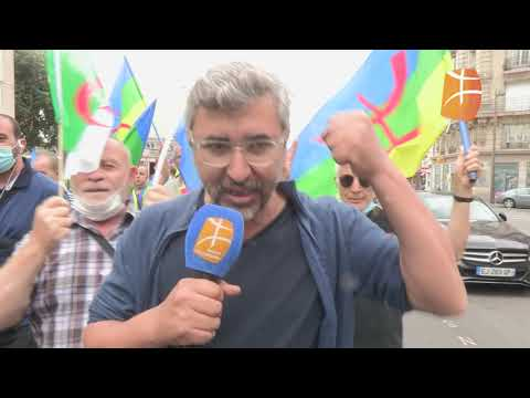 Paris - Marche unitaire kabyle entre Bastille et Nation