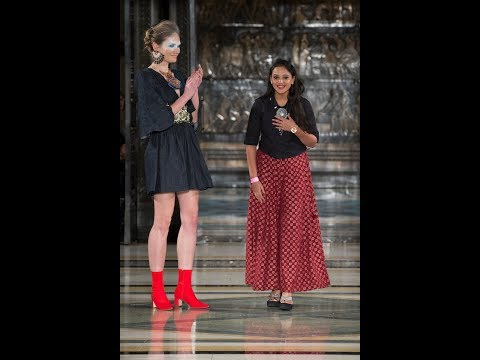 Priyanka Golakiya INIFD Vapi & Gandhinagar - Fashion Scout During London Fashion Week