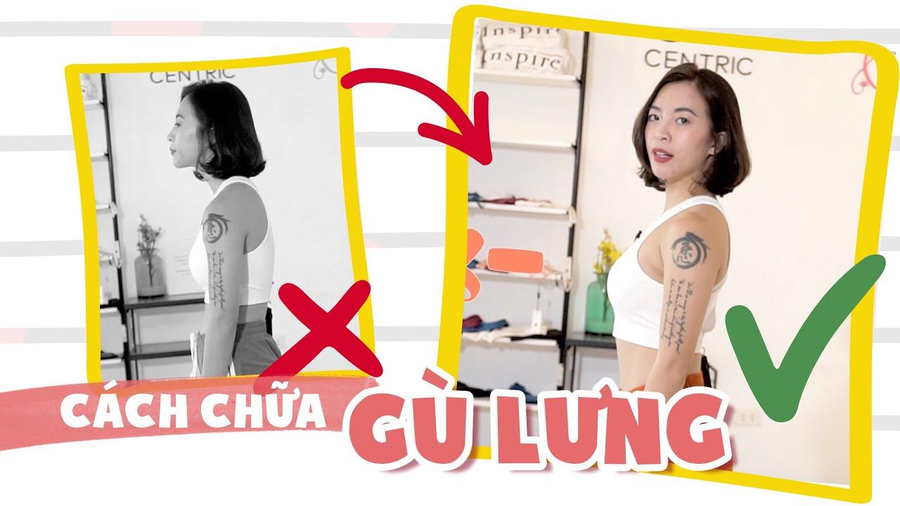Bài tập chữa gù lưng | Workout #118 ♡ Hana Giang Anh