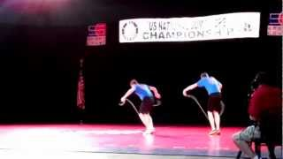 Justin and Zev Pairs Freestyle Grand Nationals 2012