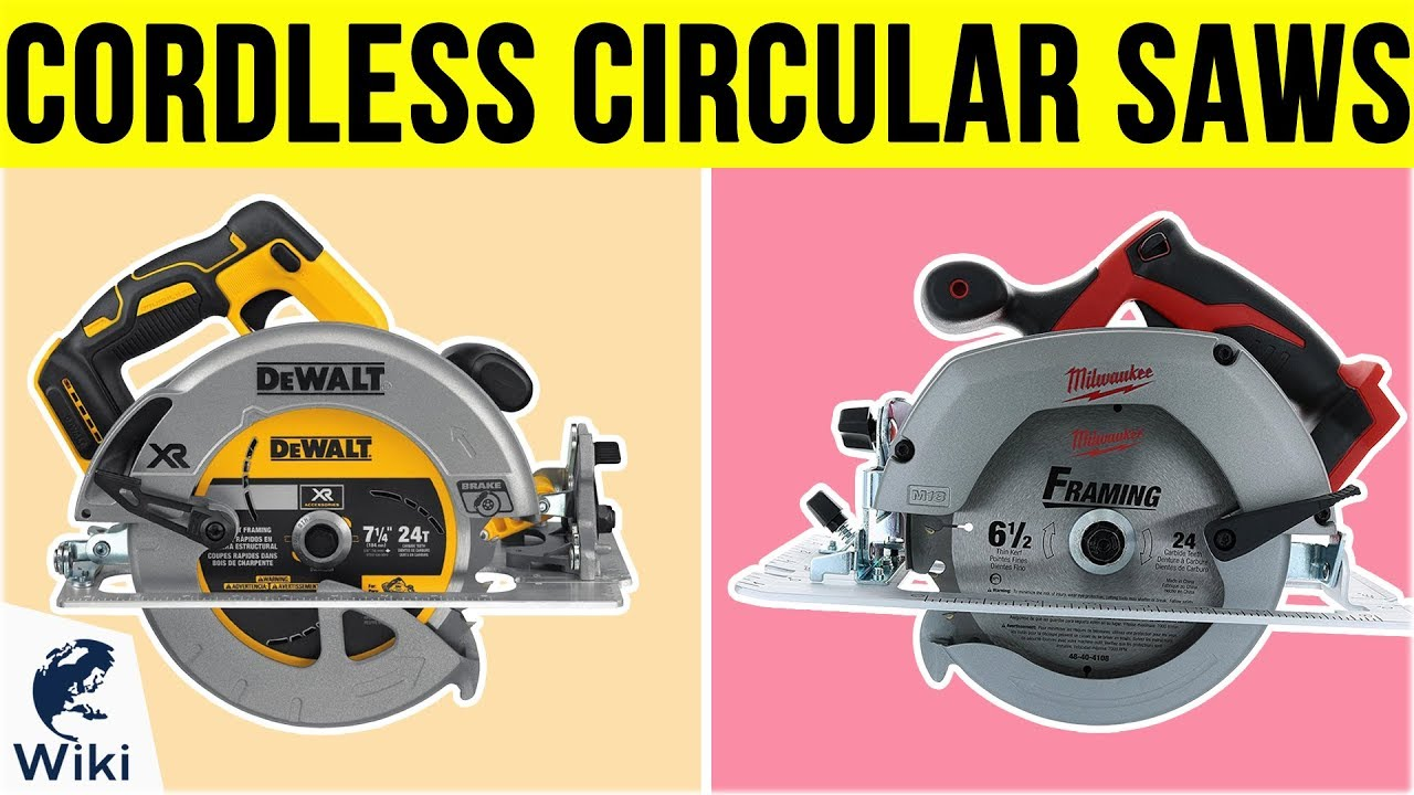 10 Best Cordless Circular Saws 2019 Youtube