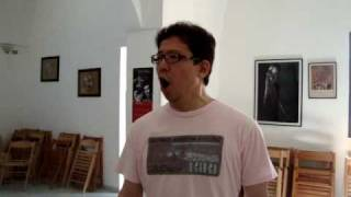"VOICE LESSONS for BEGINNERS - Hiroki Tanaka (Japan) in ""The Bel Canto School in Italy"""