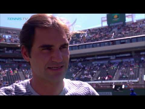 BNP Paribas Open 2017: Federer Discusses Kyrgios Withdrawal