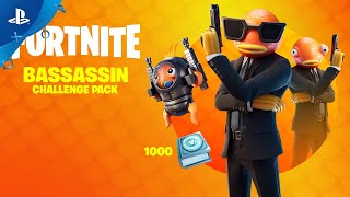 Fortnite - Bassassin Challenge Pack Trailer | PS4