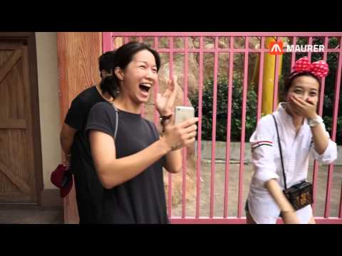 MAURER X Train Coaster Ningbo China