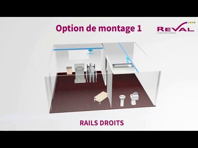 Montage rails droits 3D VF