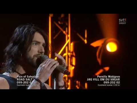 1. Pain Of Salvation - Road Salt - Omgång 1 (Melodifestivalen 2010 Andra Chansen)