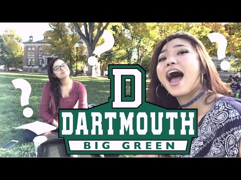 DARTMOUTH Q & A [getting in, major, greek life, more]