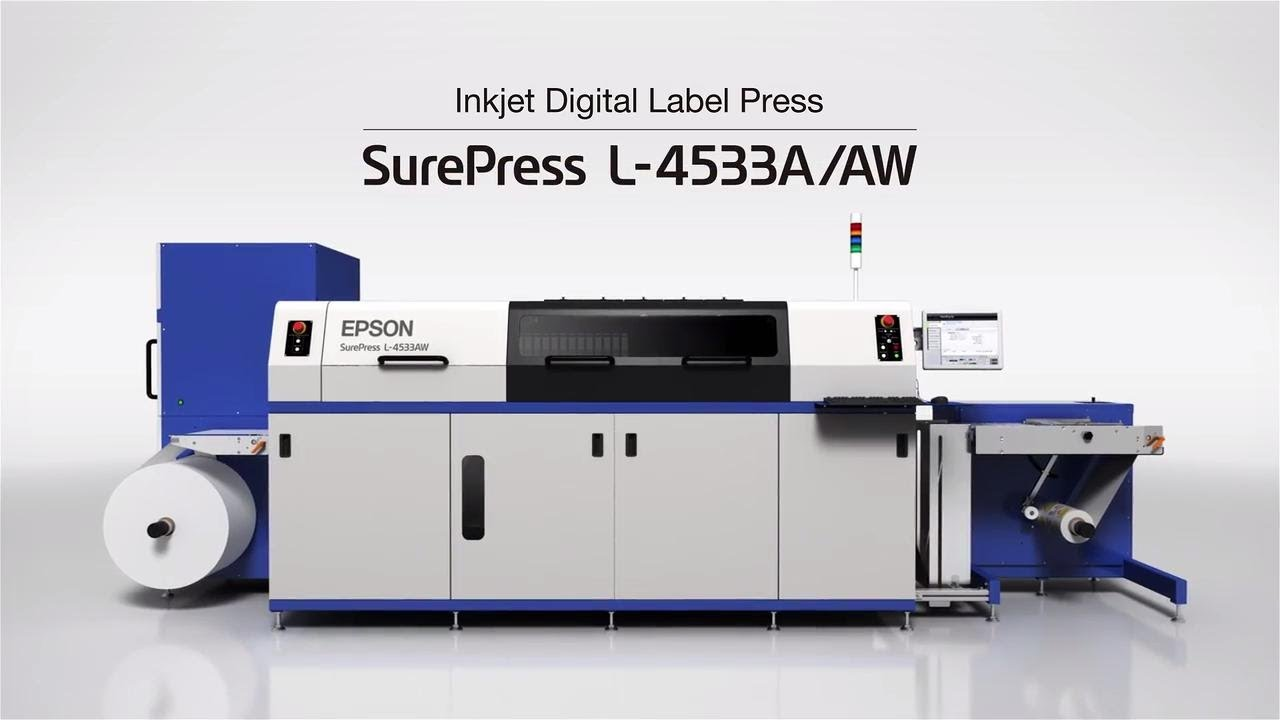 Epson SurePress L-4533AW Label & Packaging Digital Press | Take the Tour