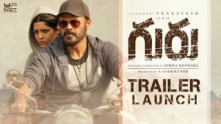 Guru Theatrical Trailer Launch Full Event | Venkatesh | Ritika Singh | Sudha | Santhosh Narayanan