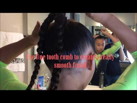 How to Create the Perfect Gymnastic Hair Bun