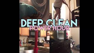 POWER HOUR | DEEP CLEAN WITH ME | Nap Time Clean