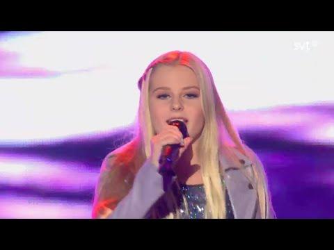 Julia Kedhammar - Du Är Inte Ensam (Sweden) - live - Junior Eurovision Song Contest 2014