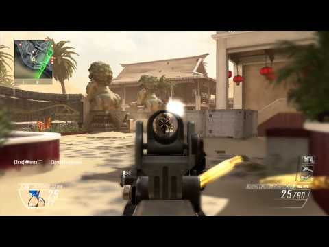 Black Ops 2 Revolution Map Pack Multiplayer Walkthrough w/ Peacekeeper SMG (All 4 Maps!)
