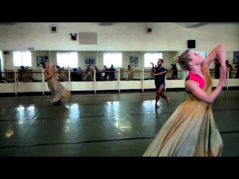 TURNING TIDES rehearsal with River North Dance Co.