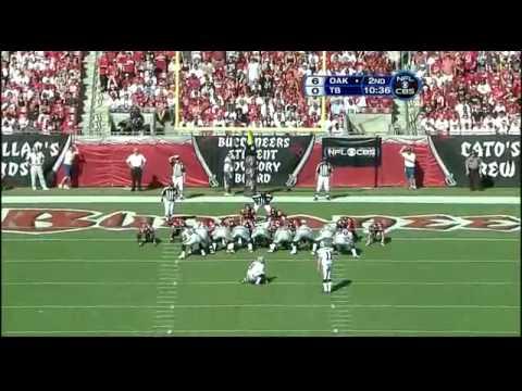 Oakland Raiders vs Tampa Bay Bucs 2008 1st Half WK 17