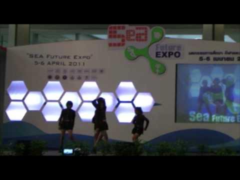 Shoot it hilight Cover Dance งาน Sea Future Expo 2011