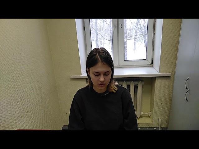 Изображение предпросмотра прочтения – ДианаСкоморохова читает произведение «Мне нравится, что Вы больны не мной...» М.И.Цветаевой