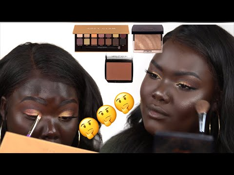 ABH Soft Glam, AMREZY Highlight & Bronzer First Impression || Nyma  Tang