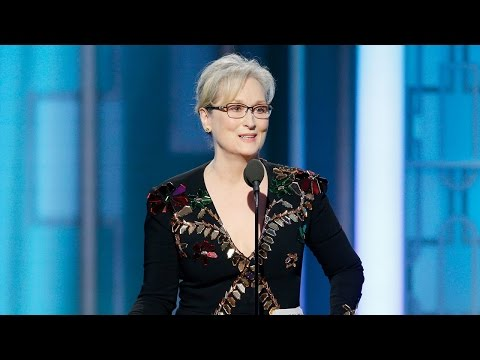 Thumbnail: Meryl Streep Seemingly Slams Trump and Pays Tribute to Carrie Fisher in Golden Globes Speech