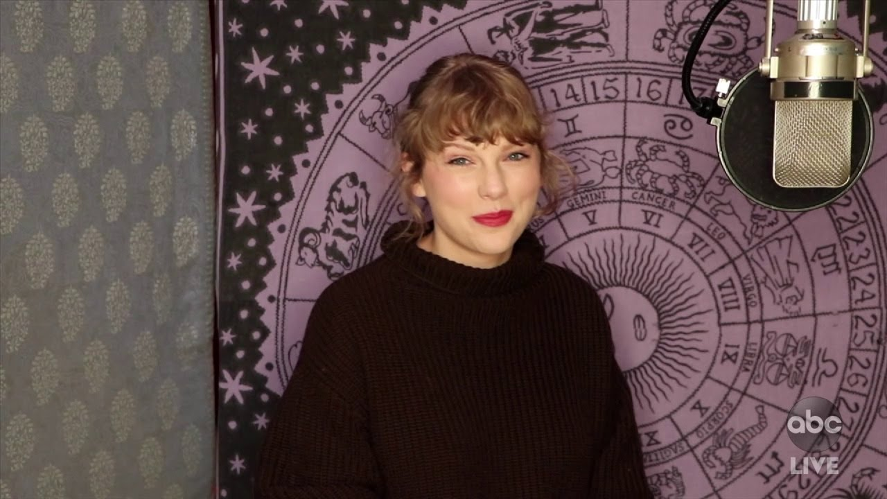 Taylor Swift Wins Artist of the Year at AMAs 2020 - The American Music Awards