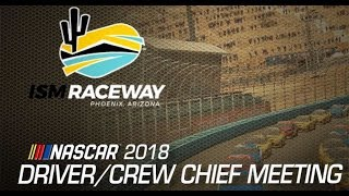 Ism Raceway Drivers Meeting Video