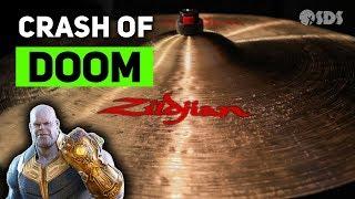If Thanos Had a Crash Cymbal | Zildjian Crash of Doom