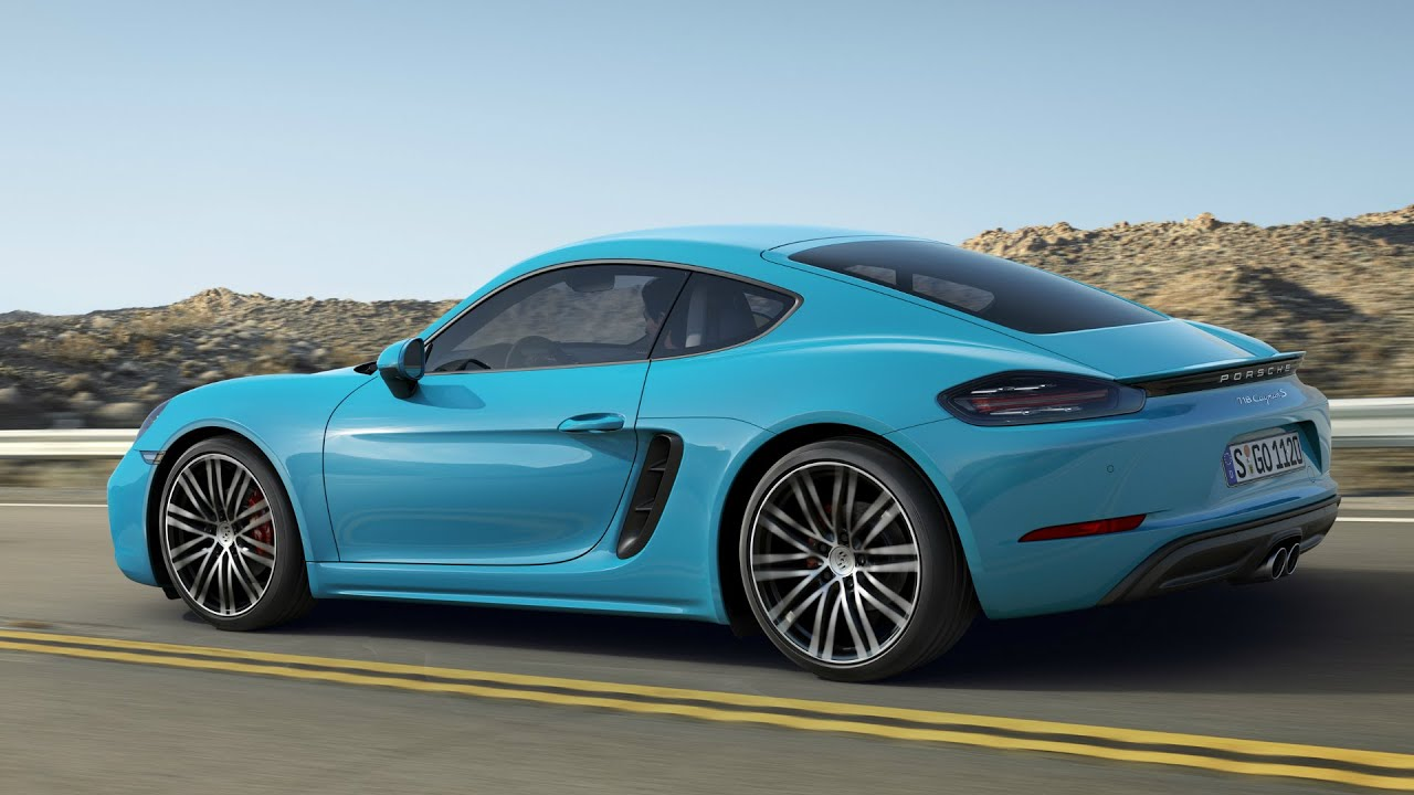 2017 porsche 718 cayman s interior exterior and drive youtube. Black Bedroom Furniture Sets. Home Design Ideas