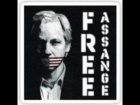 Mahnwache für Julian Assange - FFM 19.02.2020