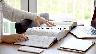 FOOLPROOF RESEARCH TO GET THAT A+ // essays and written papers for college