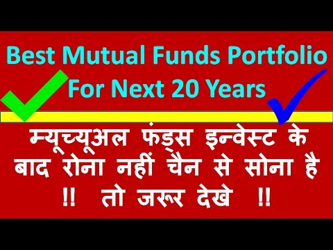 BEST MUTUAL FUND  portfolio FOR 20 YEARS