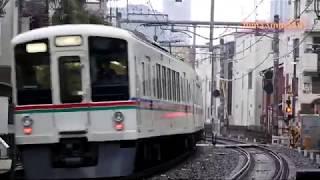 雨の西武池袋線休日ダイヤ列車観察20200126