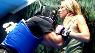 KRAV MAGA TRAINING • Choked against a wall thumbnail