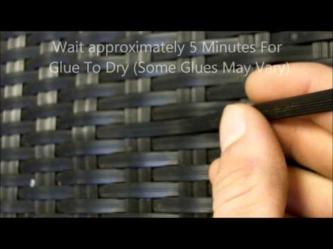 How To Repair Rattan Garden Furniture | White Stores