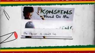 Konshens - Weed On Me [Lyric video] 2014