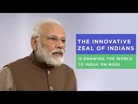 The innovative zeal of Indians is drawing the world to India: PM Modi