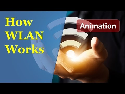 Animation of Wireless Lan working | How Packets are exchanged