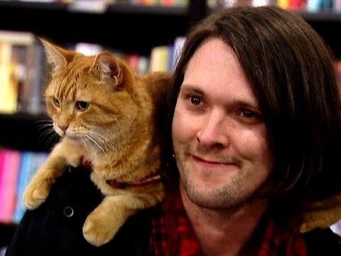 James Bowen and a Street Cat Named Bob