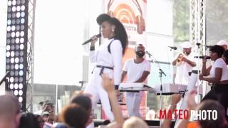 "Janelle Monae Ft. Jidenna ""Yoga"" Live on The Today Show"