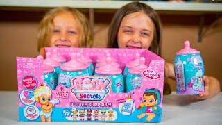 HUGE Baby Secrets Surprise Eggs Opening Doll Toys for Girls Kinder Playtime