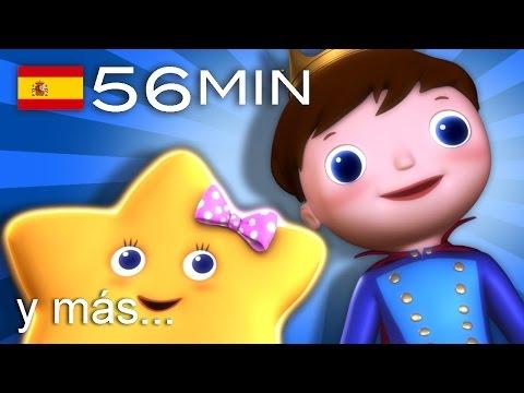 Estrellita, ¿dónde estás? | Y muchas más canciones infantiles | ¡56 min de LittleBabyBum!
