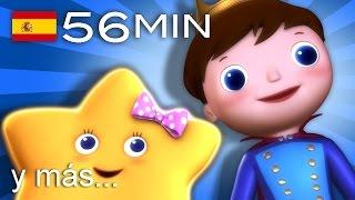 Estrellita, ¿dónde estás? | Y muchas más canciones infantiles | ¡56 min de LittleBabyBum! thumbnail