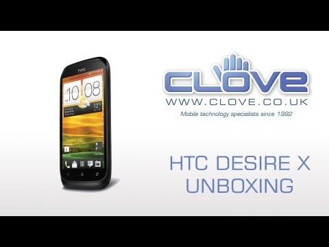 HTC Desire X Unboxing