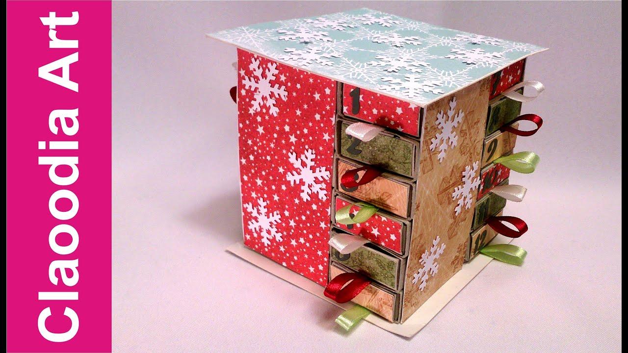 Jak zrobić kalendarz adwentowy z pudełek po zapałkach